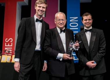 Lord Sainsbury receives Lord Dearing Lifetime Achievement Award
