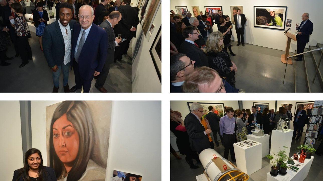 The Technicians Make it Happen campaign was launched at the Mall Galleries in London with an exhibition of technician images that toured the country in 2016.