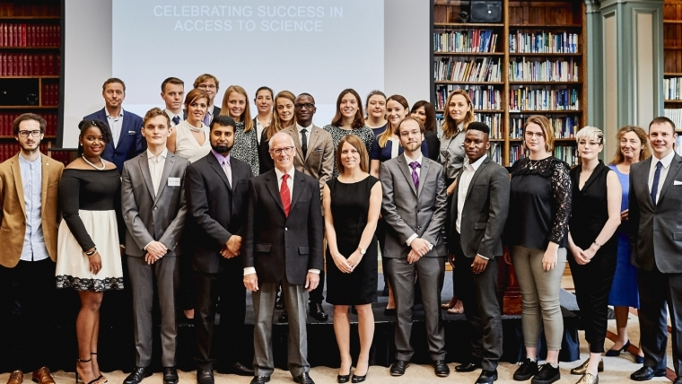 2016 Awards ceremony for Access to Science students at Burlington House