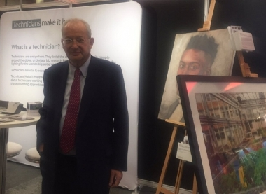 Lord Sainsbury addresses AoC conference
