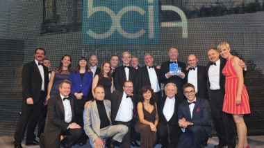 SWC won Major Building Project of the Year (over £50m) at the 2016 BCI Awards