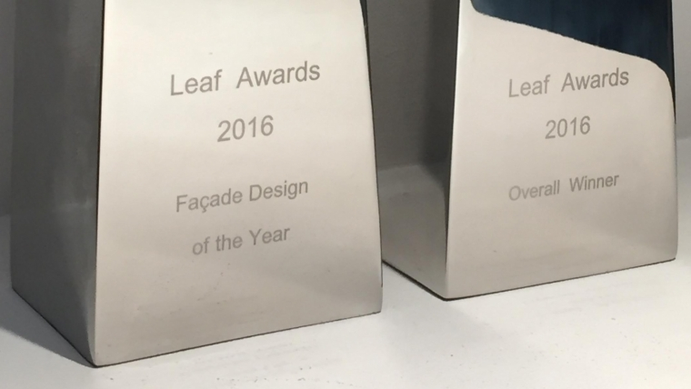 SWC is 2016 Overall Winner of LEAF Awards
